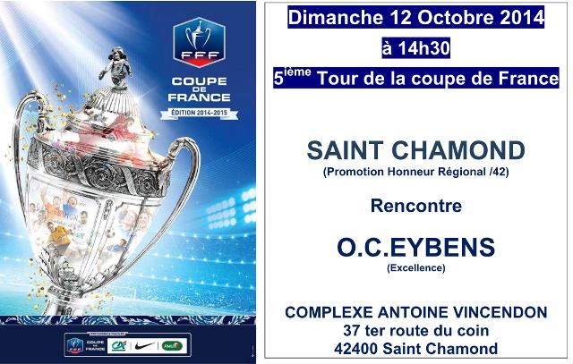 Tirage du 5 me tour de la coupe de france oc eybens - Tirage 8eme tour coupe de france 2014 ...